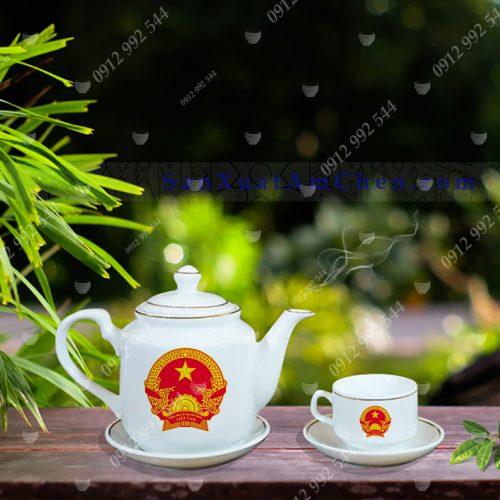 bộ trà quà tặng đại hội cao cấp