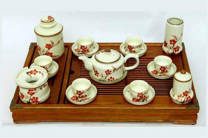 bộ ấm trà đầy đủ
