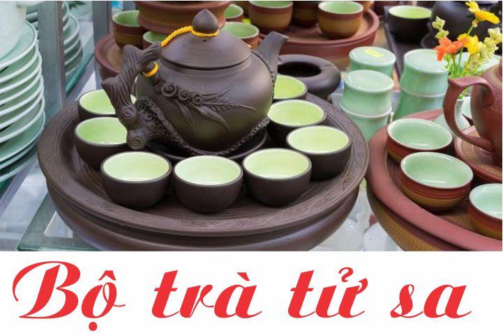 Bộ trà tử sa Bát Tràng