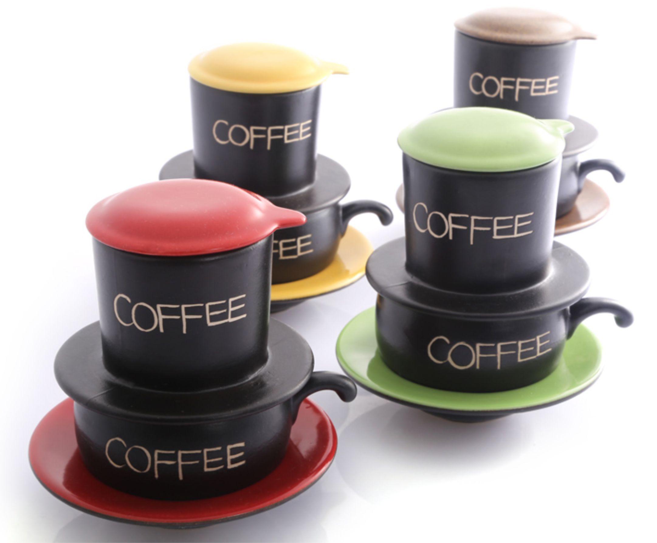 Phin cafe sứ Bát Tràng đẹp