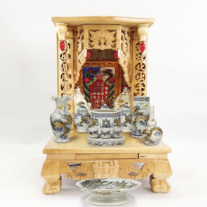 bộ bàn thờ ông địa