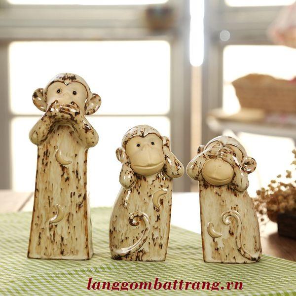 Bộ thú gốm sứ quà tặng trung thu cho bé 2018
