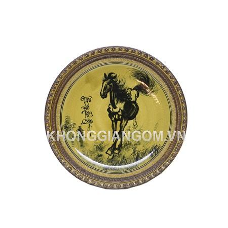 Đĩa trang trí Mã Đáo Thành Công