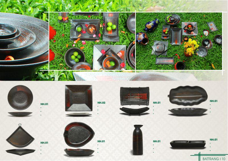 Những bộ bát đĩa Bát Tràng xuất khẩu , phù hợp với nhà hàng BBQ , và hàng xuất khẩu Hàn Quốc , và Nhật Bản