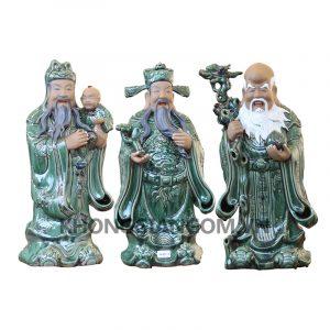Bộ tượng tam đa -Phúc Lộc Thọ