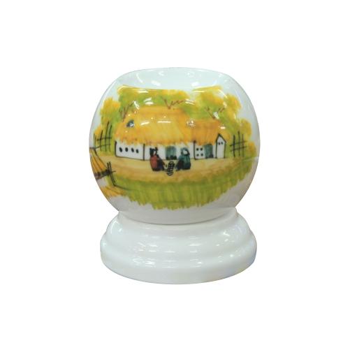 Đèn xông tinh dầu mini làng quê