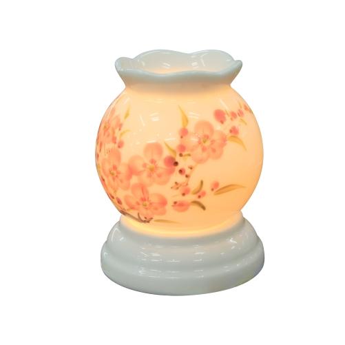 Đèn xông tinh dầu mini hoa đào