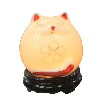 Đèn xông tinh dầu mèo béo