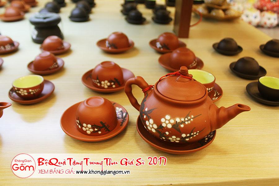 mua bộ ấm trà đẹp, quà biếu trung thu 2017, trung thu tặng quà gì cho người yêu, quà trung thu 2017