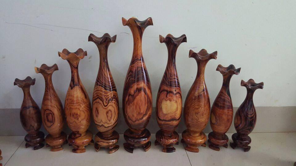 Lục bình chất liệu gỗ với nhiều mẫu đẹp