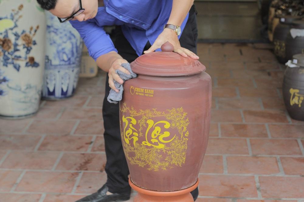 Hũ gạo Tài Lộc