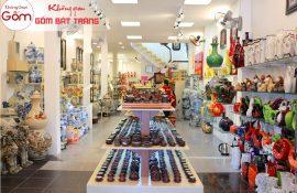 Cửa hàng không gian gốm chuyên cung cấp sản phẩm gốm sứ đẹp mắt đa dạng mẫu mã