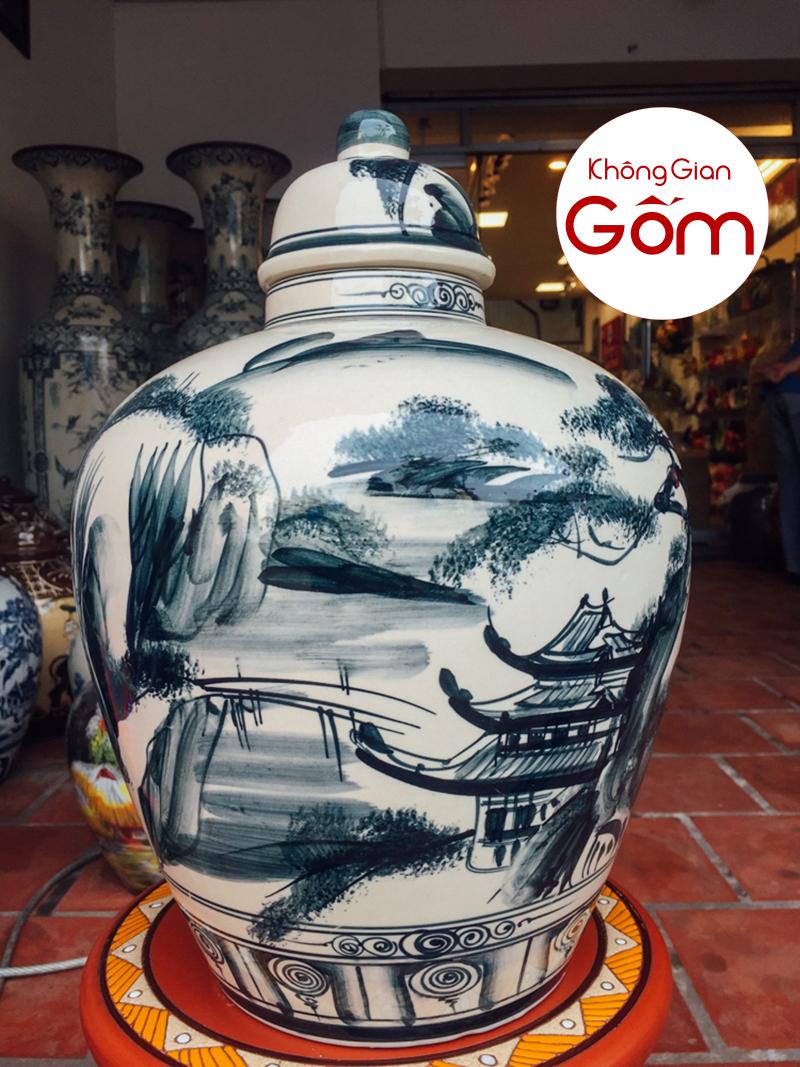 Vò sành đựng rượu Bát Tràng - làng gốm Bát Tràng