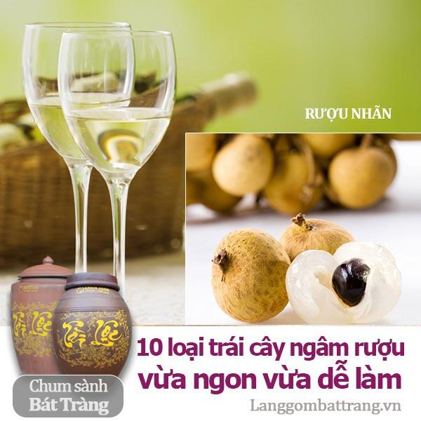 10 loại trái cây dùng để ngâm rượu vừa ngon vừa dễ làm