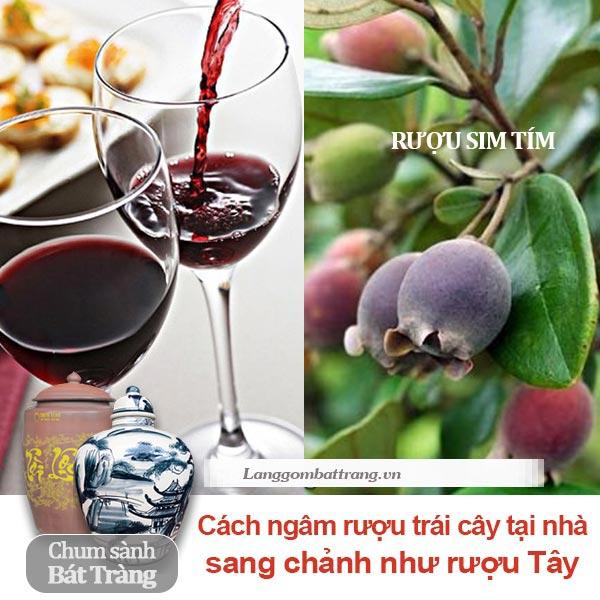 cách ngâm rượu trái cây tại nhà