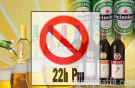 Ngiêm cấm bán rượu bia sau 22h