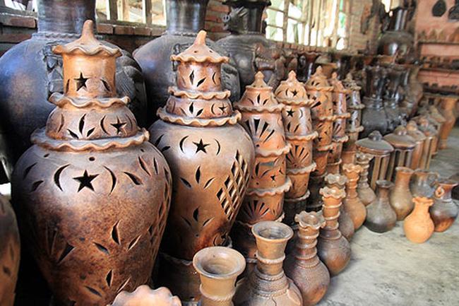 Sản phẩm gốm Bàu Trúc mang nét đặc trưng của người Chăm
