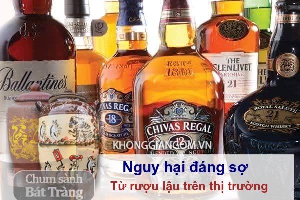 Nguy hại từ rượu lậu