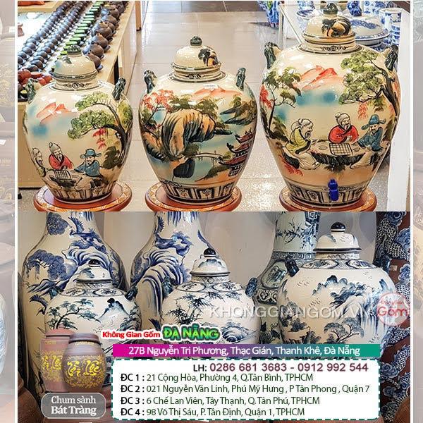 Mua hũ gạo sành sứ ở đâu tại Đà Nẵng ? Hũ gạo sành sứ tại Đà Nẵng