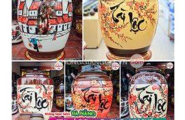 Hũ gạo Tai Lộc gốm sứ tại Đà Nẵng