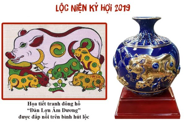 Quà tết 2019 tại TPHCM - Cung cấp quà tết gốm sứ Bát Tràng