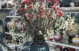 Bình hoa men hỏa biến cao cấp