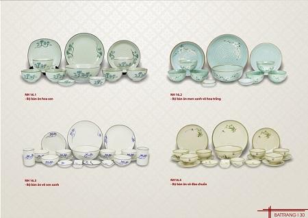 Địa chỉ chuyên sản xuất bát đĩa sứ giá rẻ tại Bà Rịa - Vũng Tàu