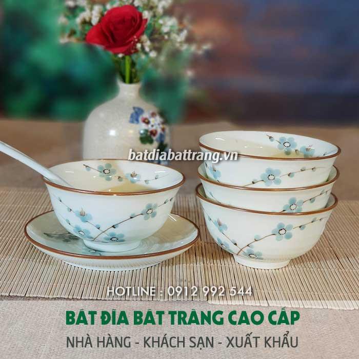 Chuyên cung cấp ly chén sứ nhà hàng quán ăn, in logo chén dĩa ly sứ