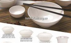 Bát đĩa melamine cao cấp - Cung cấp bát đĩa cho nhà hàng, quán ăn