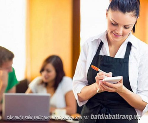Nhân viên cần lưu ý gì khi tư vấn món ăn cho thực khách tại nhà hàng