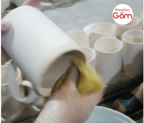 Xưởng sản xuất ly sứ in logo giá rẻ tại Bà Rịa Vũng Tàu