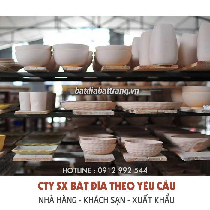 Xưởng cung cấp tô sứ giá sỉ, bát đĩa tô chén sứ số lượng lớn
