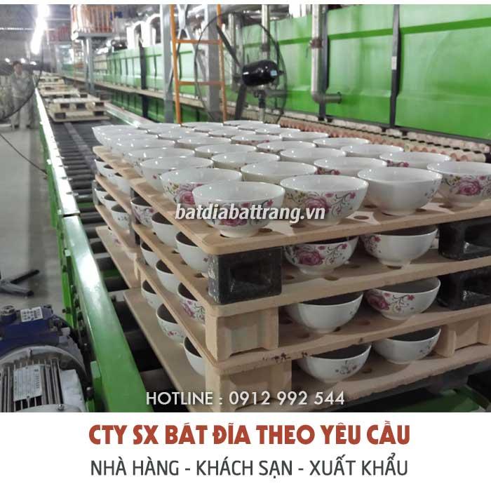 Xưởng cung cấp chén bát sành sứ giá gốc tphcm, bình dương...