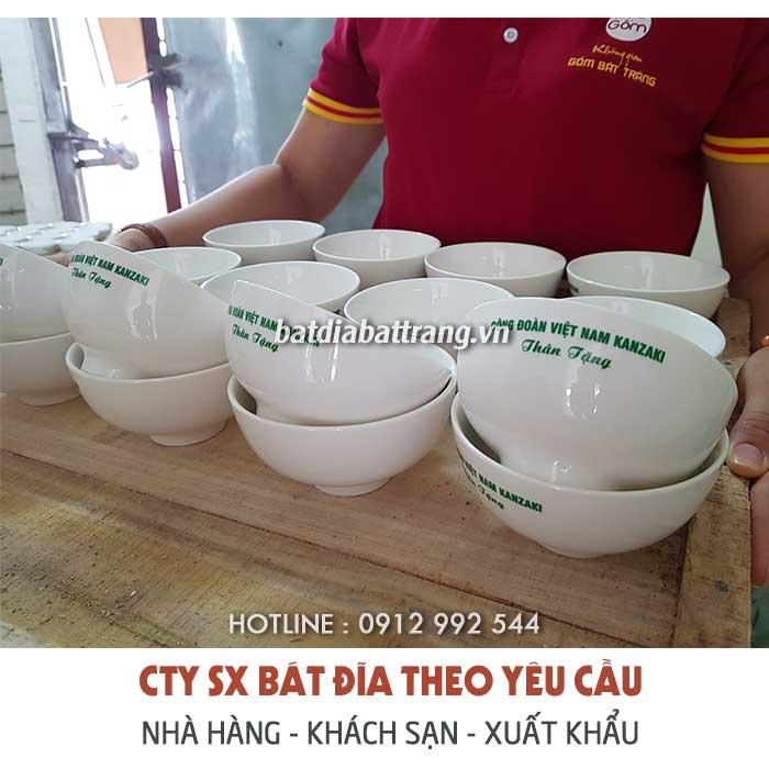 Địa chỉ bán tô chén sứ giá rẻ, cung cấp bát đĩa sứ số lượng lớn
